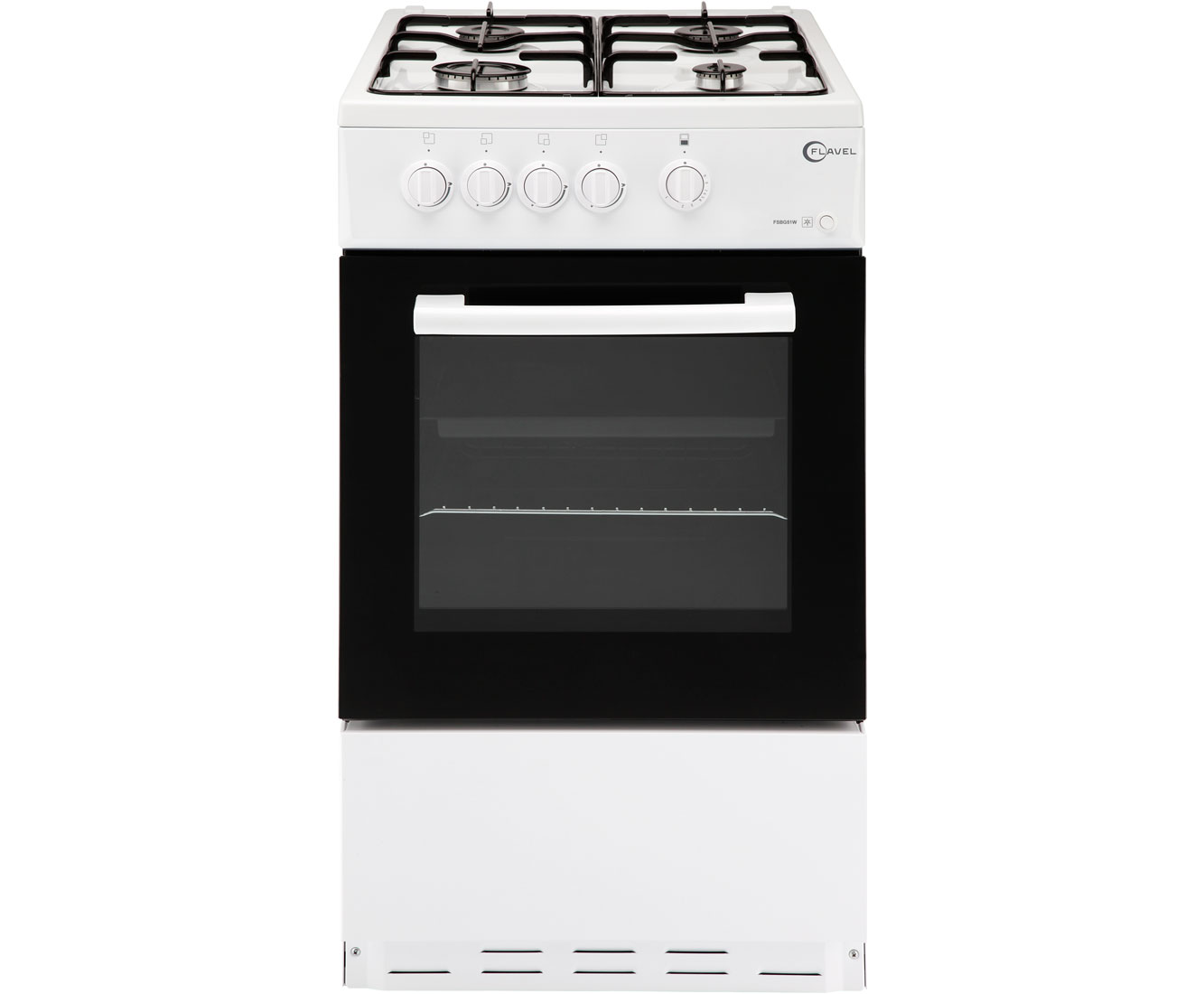 Flavel FSBG51W Gas Cooker - White