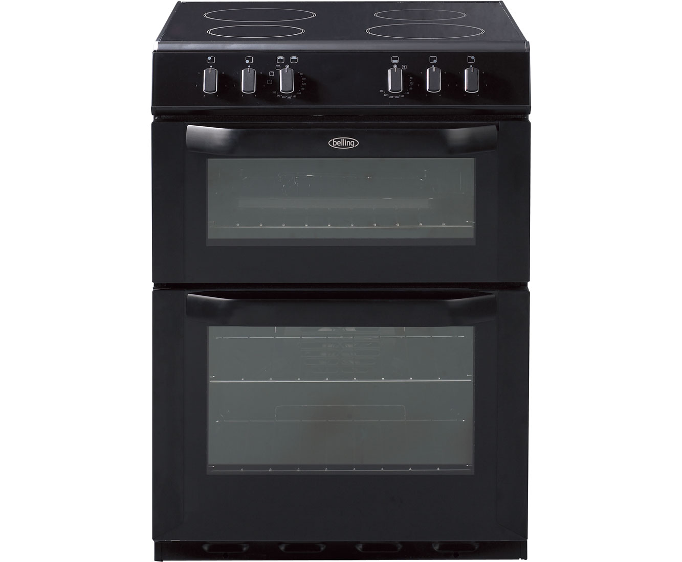 Belling FSE60DO Electric Cooker with Ceramic Hob - Black