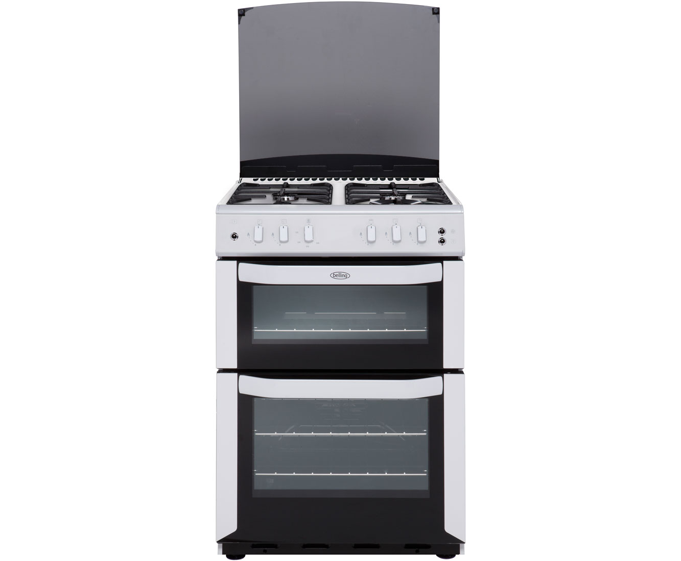 Belling FSG55TCF Gas Cooker with Gas Grill - White
