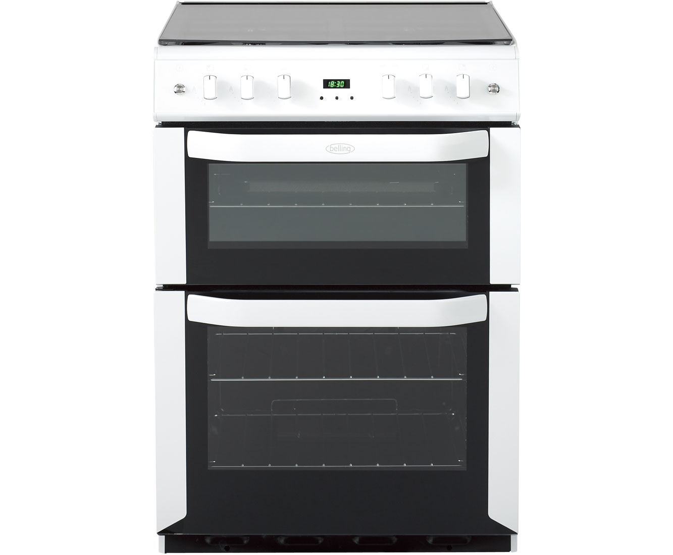 Belling FSG60DOP Gas Cooker with Electric Grill - White
