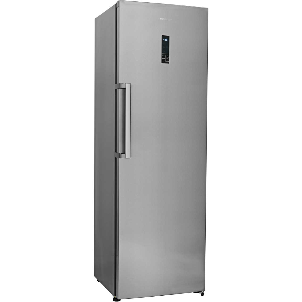 Hisense FV341N4EC1 Upright Freezer - Stainless Steel Look