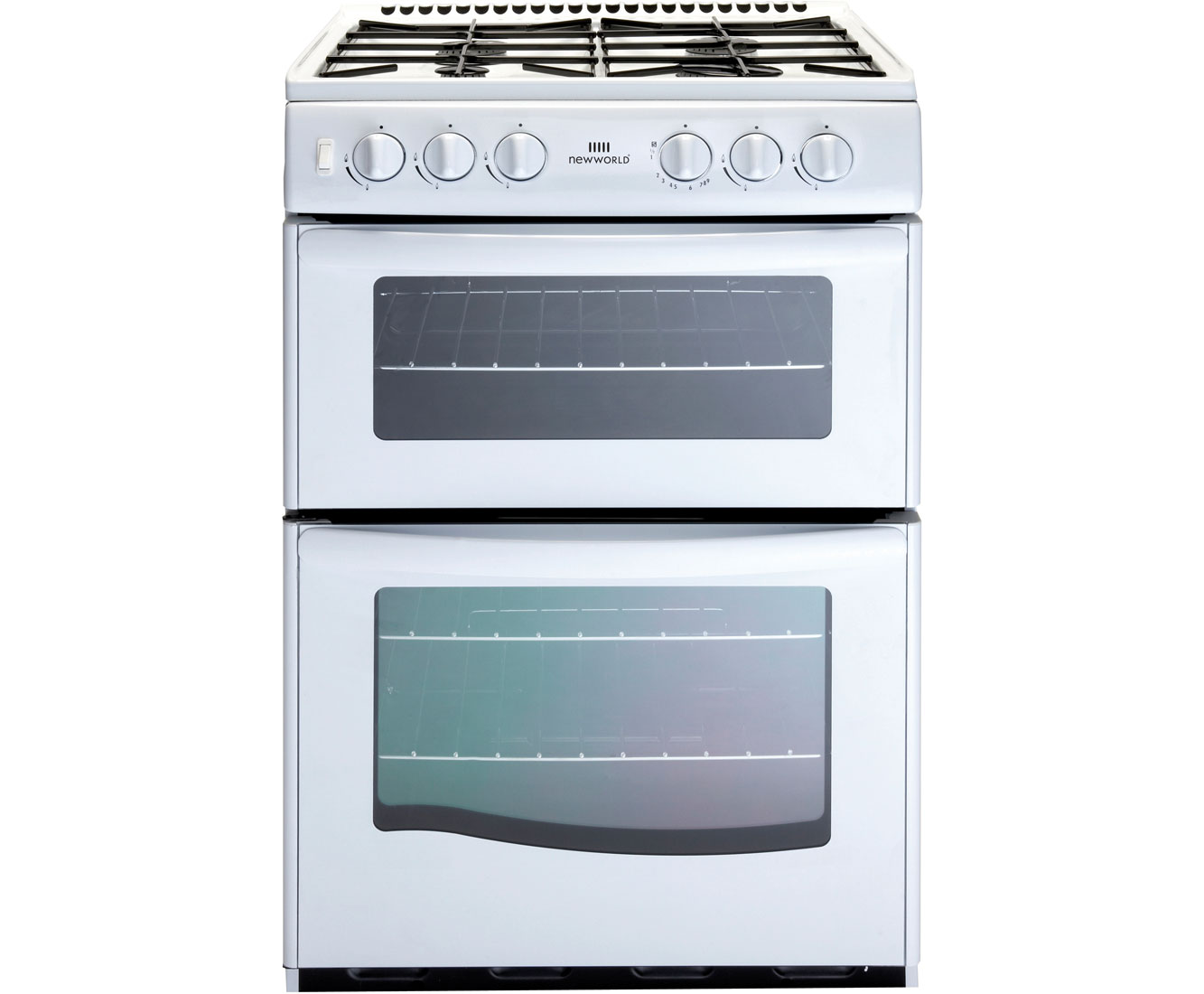 Newworld G55TT Gas Cooker with Gas Grill - White