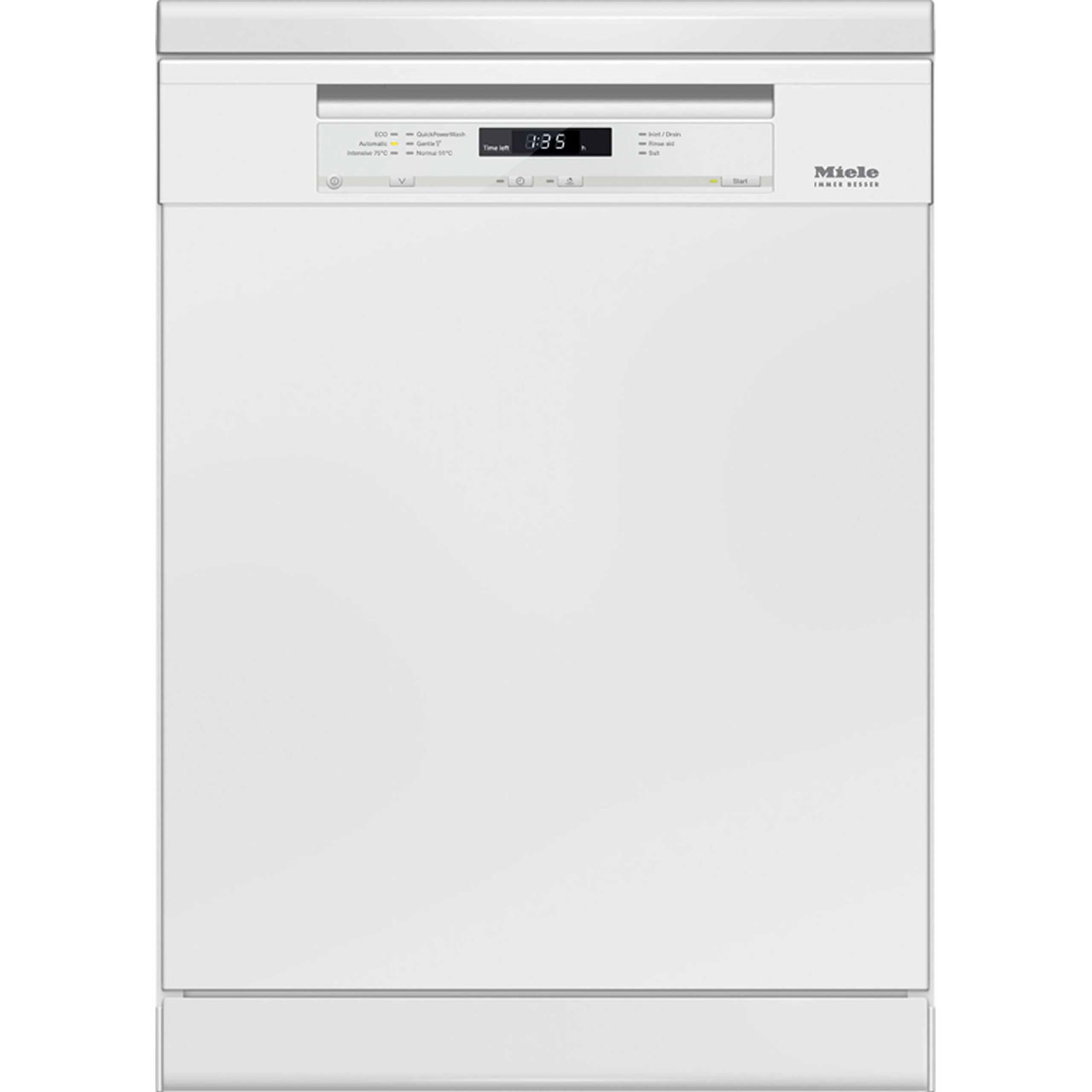 Miele Dishwasher Reviews >> Miele G6620sc Standard Dishwasher White A Rated