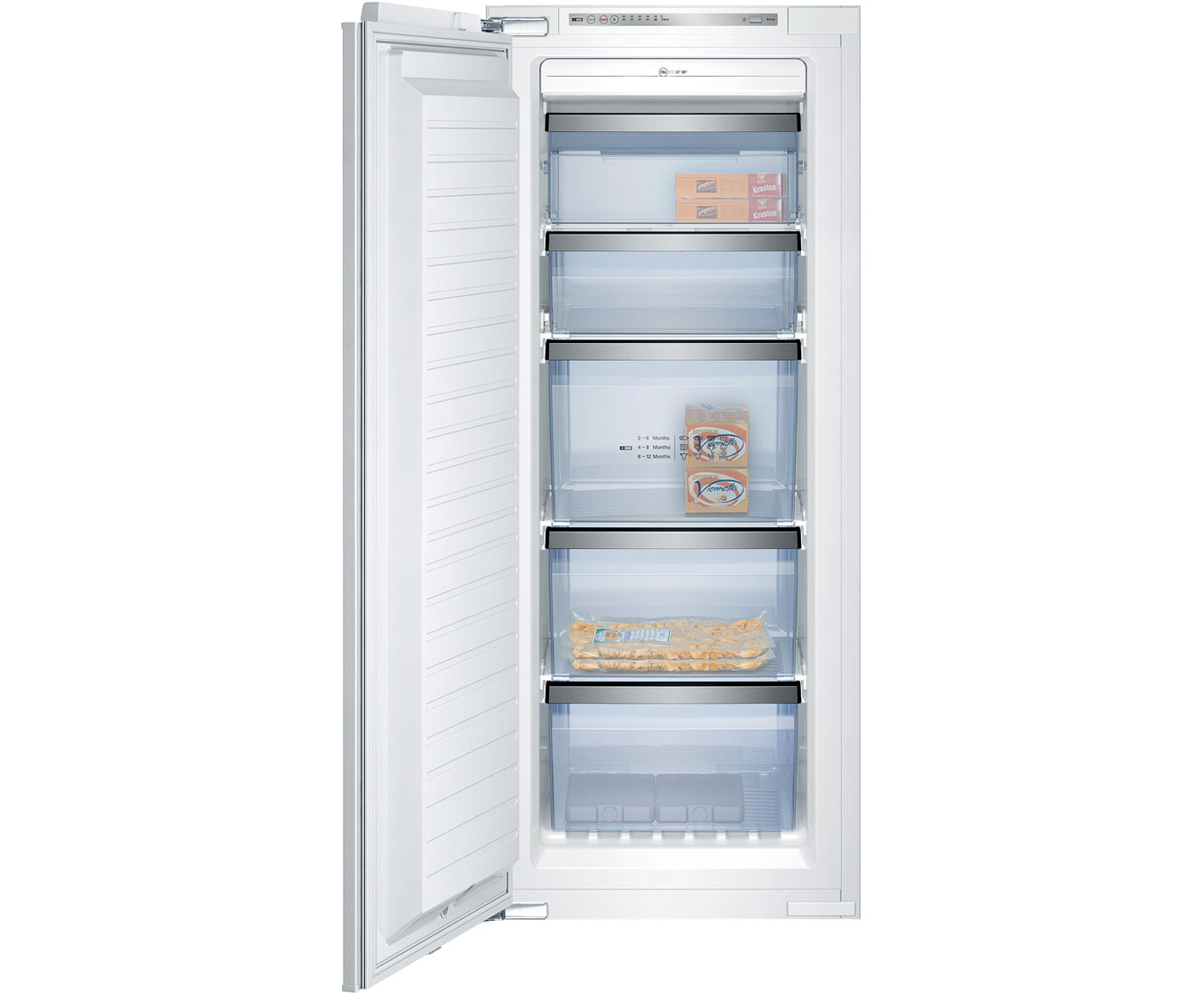 Neff G8120X0 Integrated Freezer Frost Free in White
