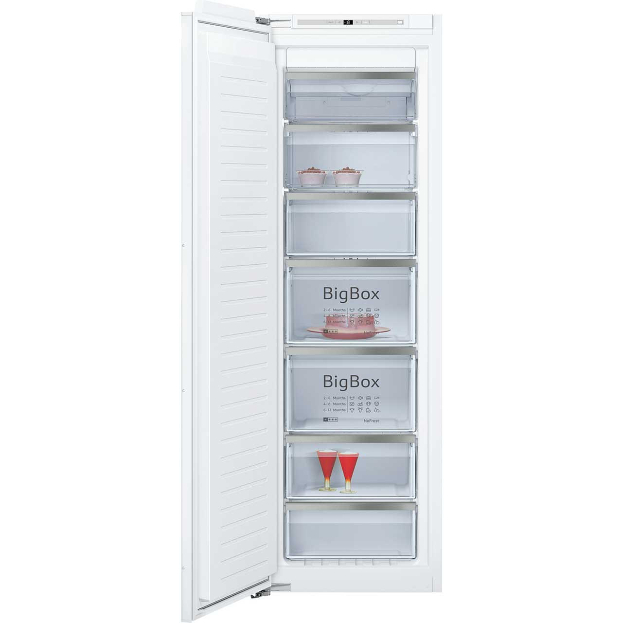 Neff GI7813E30G Integrated Freezer Frost Free in White