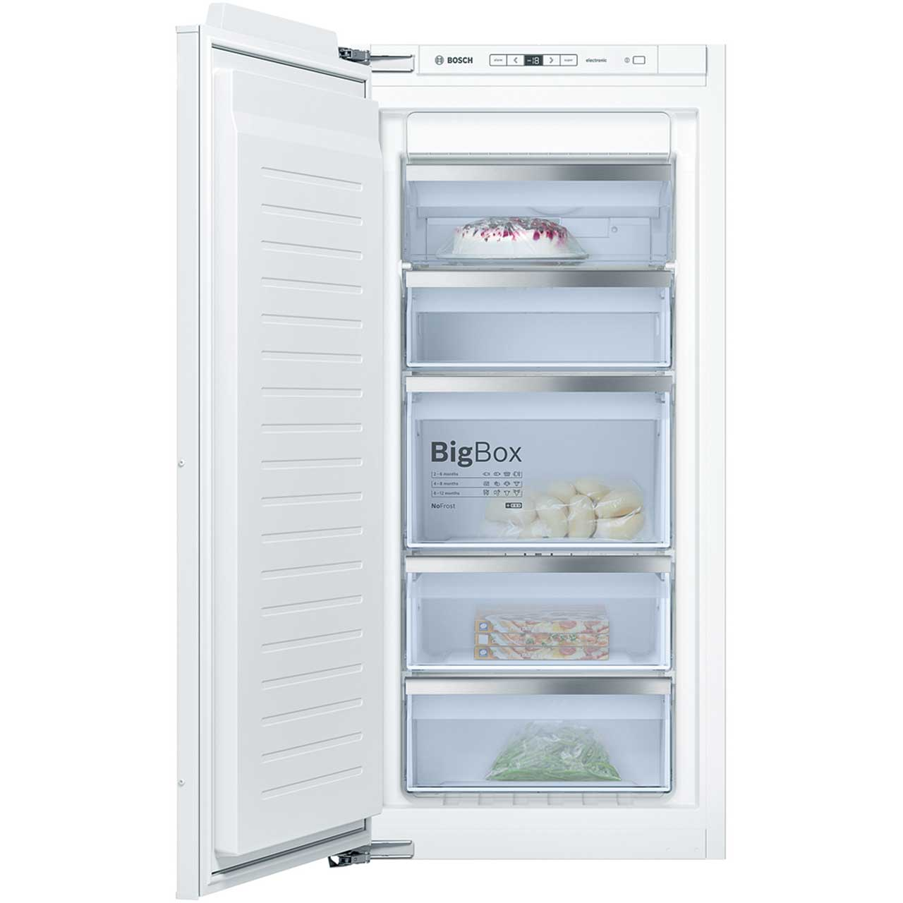 Bosch GIN41AE30G Integrated Freezer Frost Free in White