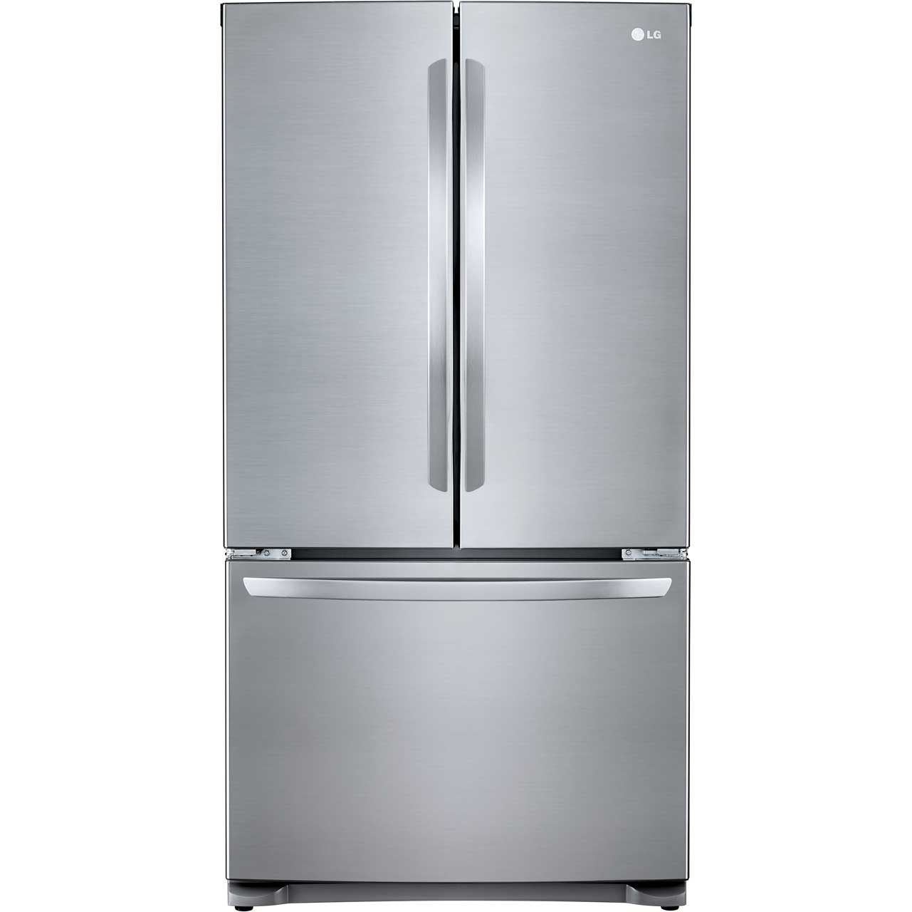 LG GMB714PZXV Free Standing American Fridge Freezer in Stainless Steel