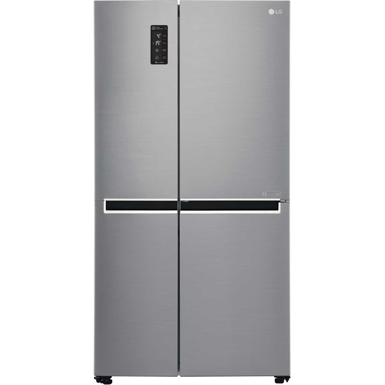 LG GSB760PZXV American Fridge Freezer - Stainless Steel