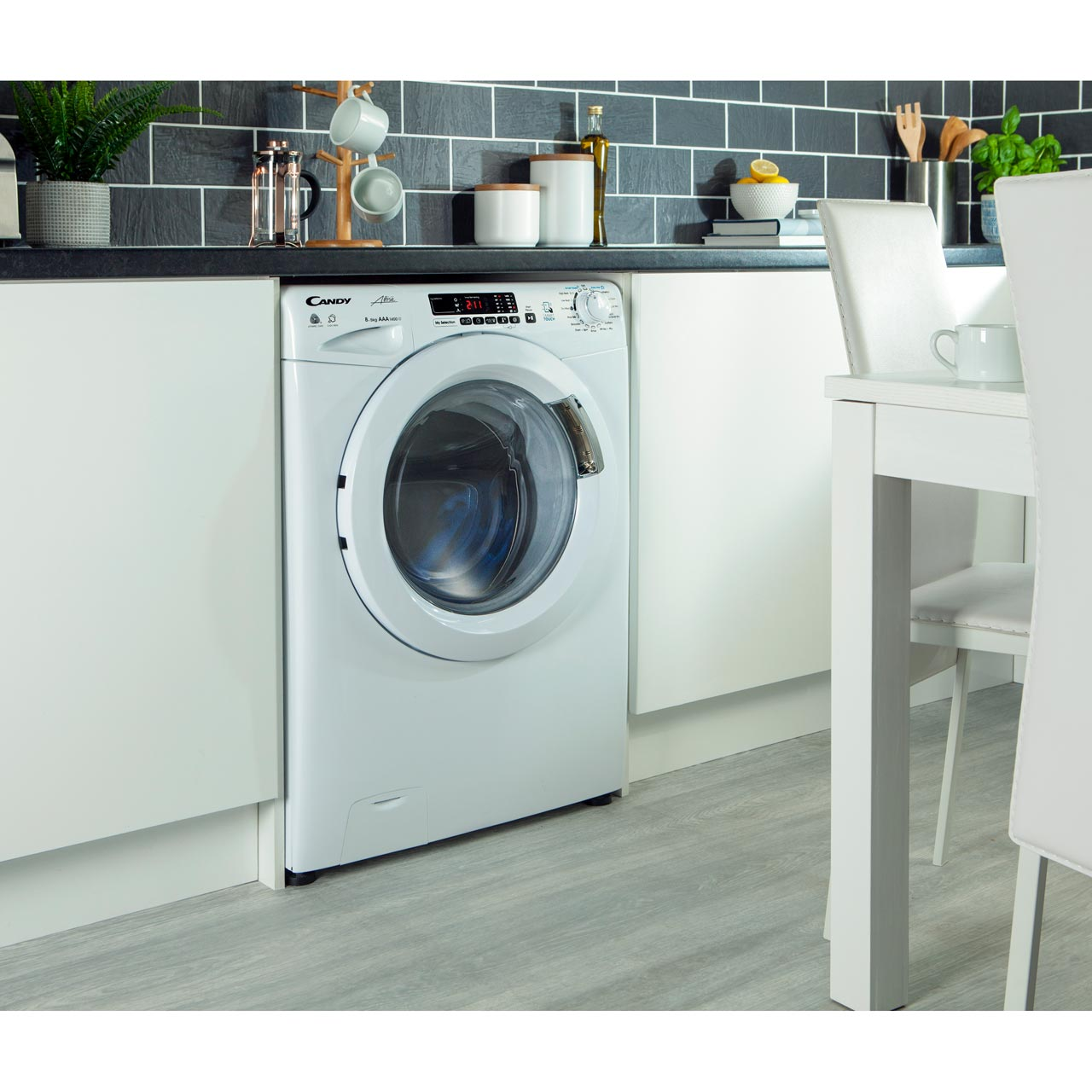 GVSW496D_WH | Candy washer dryer | white | ao.com