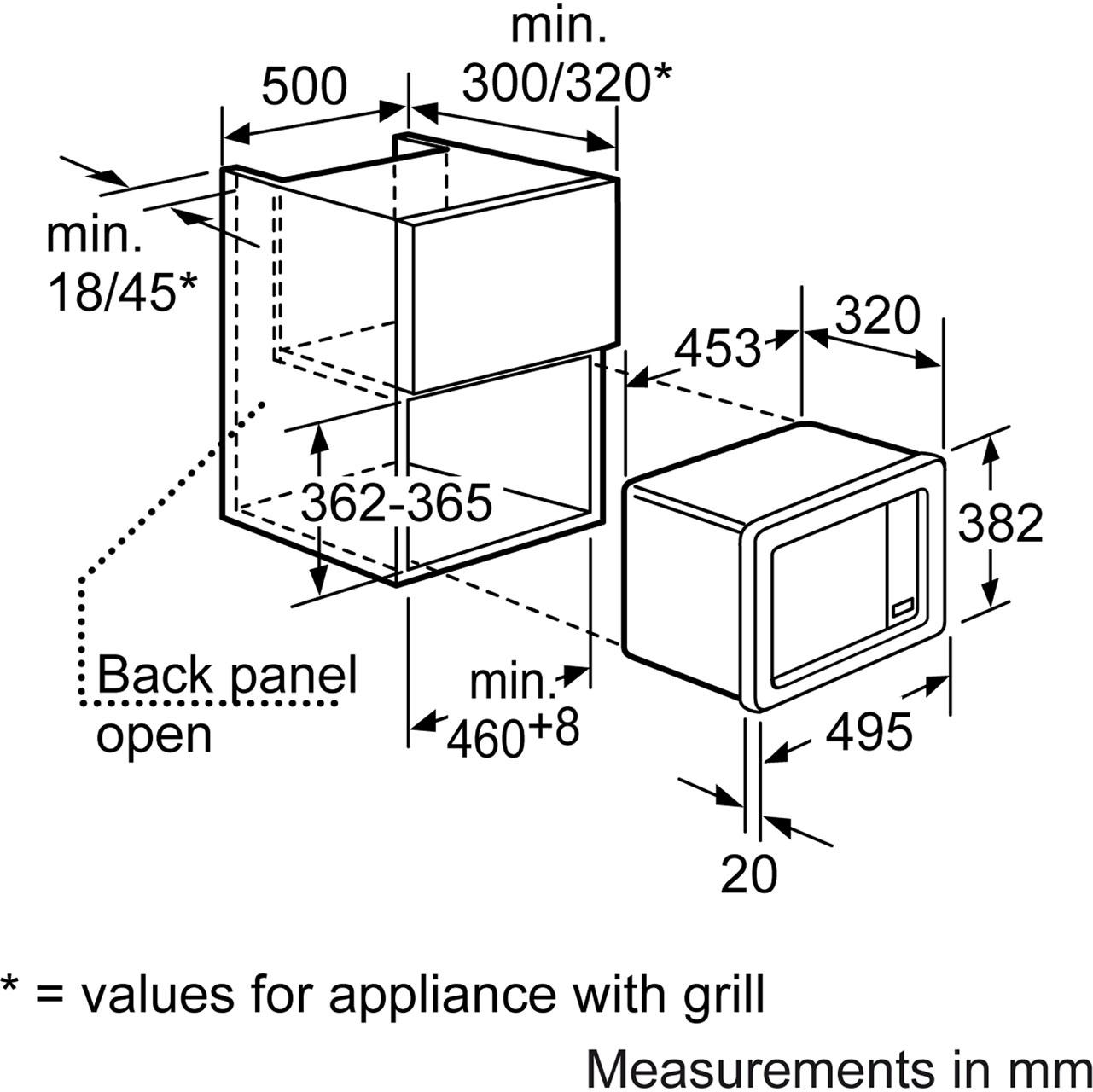 built in microwave dimensions bestmicrowave. Black Bedroom Furniture Sets. Home Design Ideas
