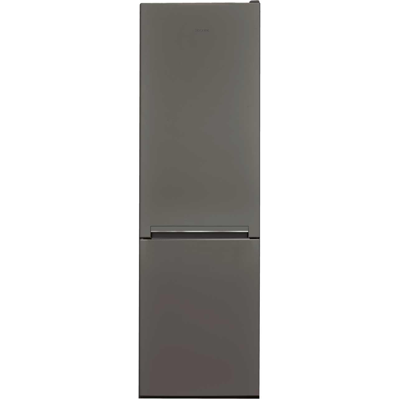 Hotpoint H8A1ESB Free Standing Fridge Freezer in Graphite