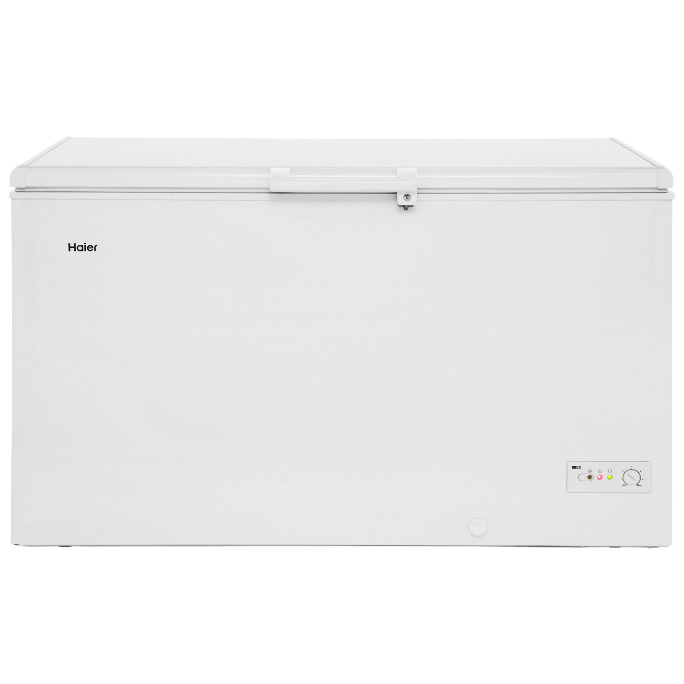 Haier BD429RAA Free Standing Chest Freezer in White