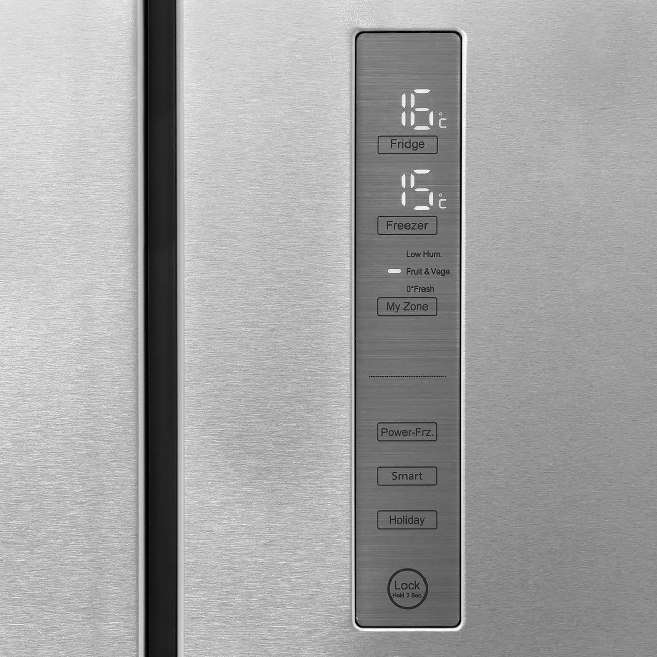 Haier HTF-452DM7 American Fridge Freezer - Stainless Steel - A++ Rated