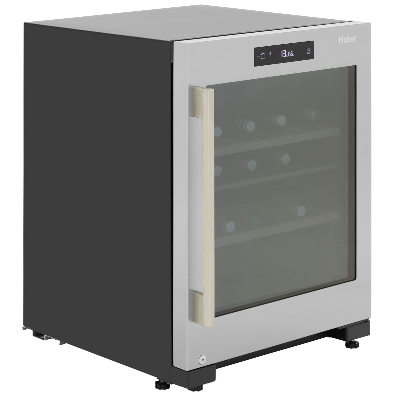 Haier WS50GDBI Free Standing Wine Cooler in Stainless Steel