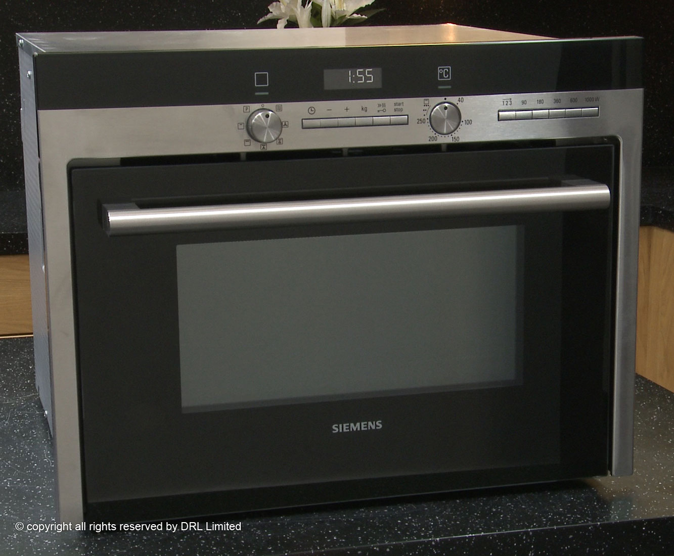 Siemens microwave oven combination