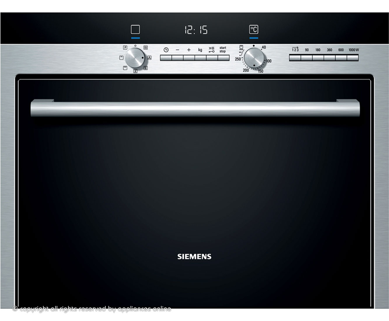 Siemens IQ-500 HB84E562B Built In Combination Microwave Oven - Stainless Steel
