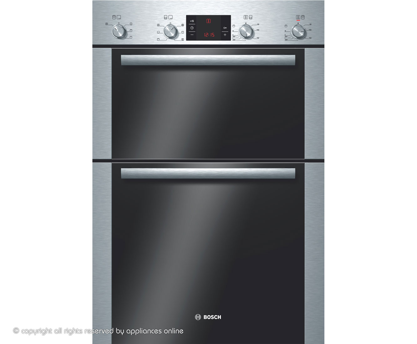 Bosch eye level double oven