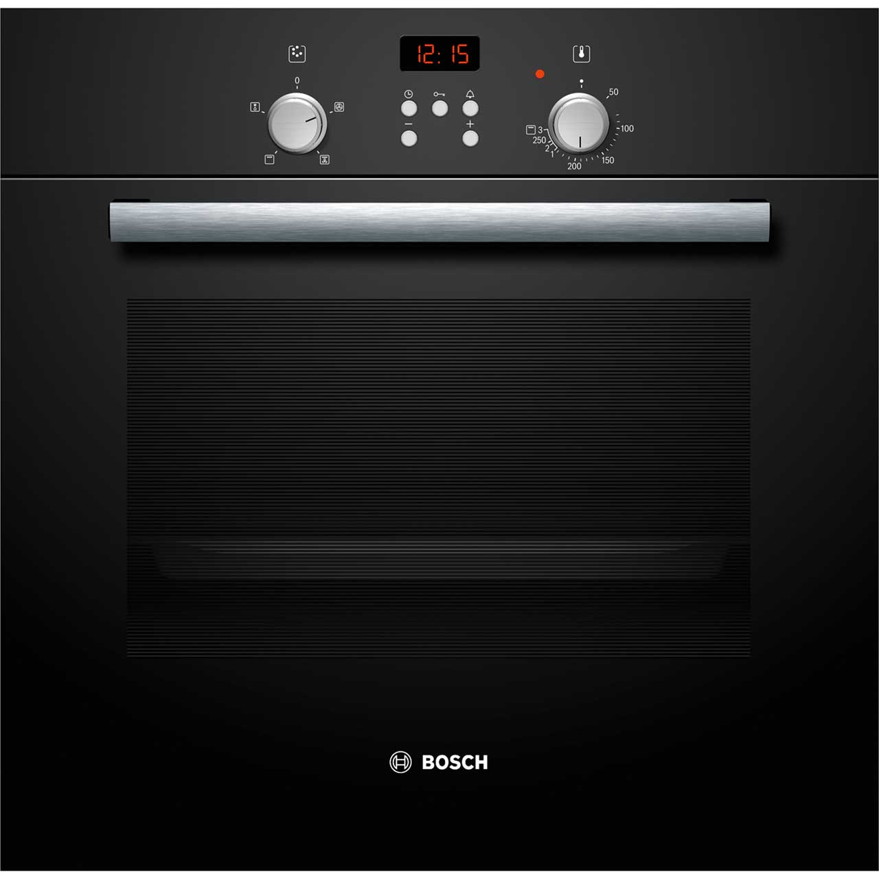 bosch hbn331s4b built in electric single oven black a rated. Black Bedroom Furniture Sets. Home Design Ideas