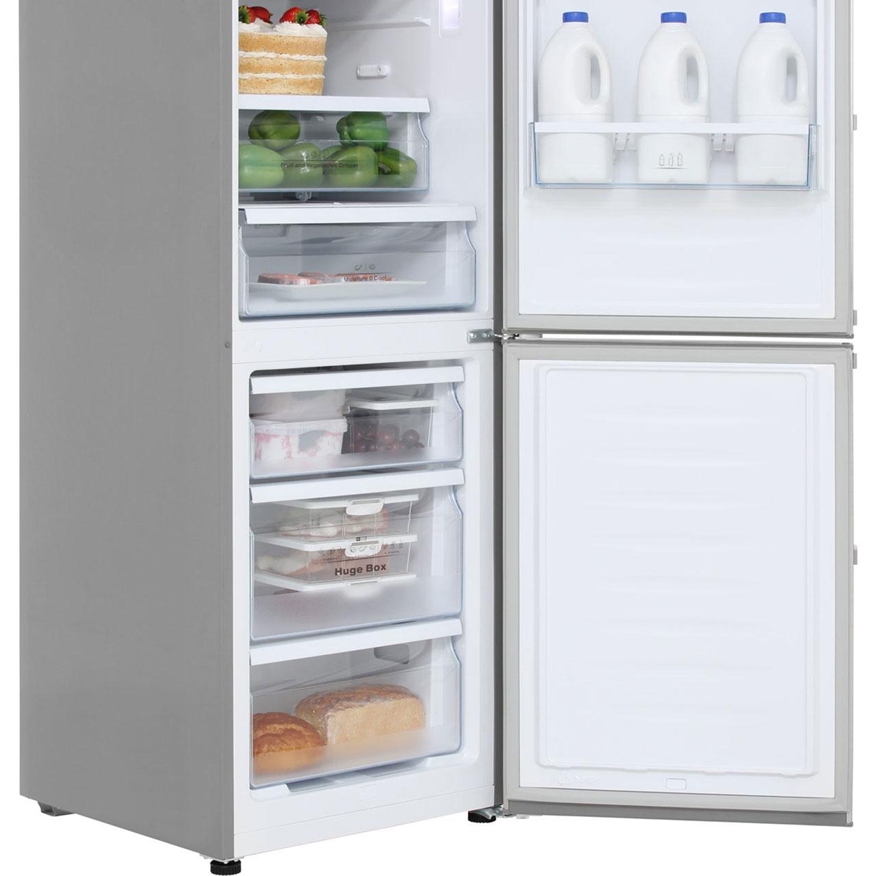 Huge Refrigerator Hisense Rb403n4ac2 60 40 Frost Free Fridge Freezer Stainless