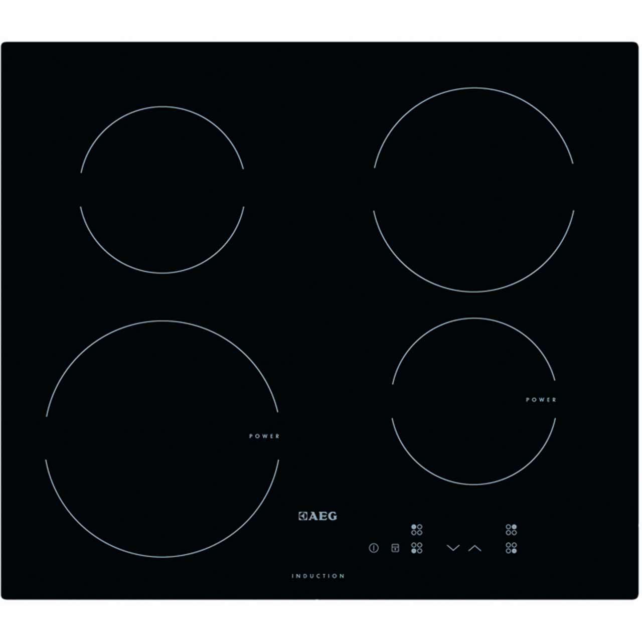 AEG HK604200IB Integrated Electric Hob in Black