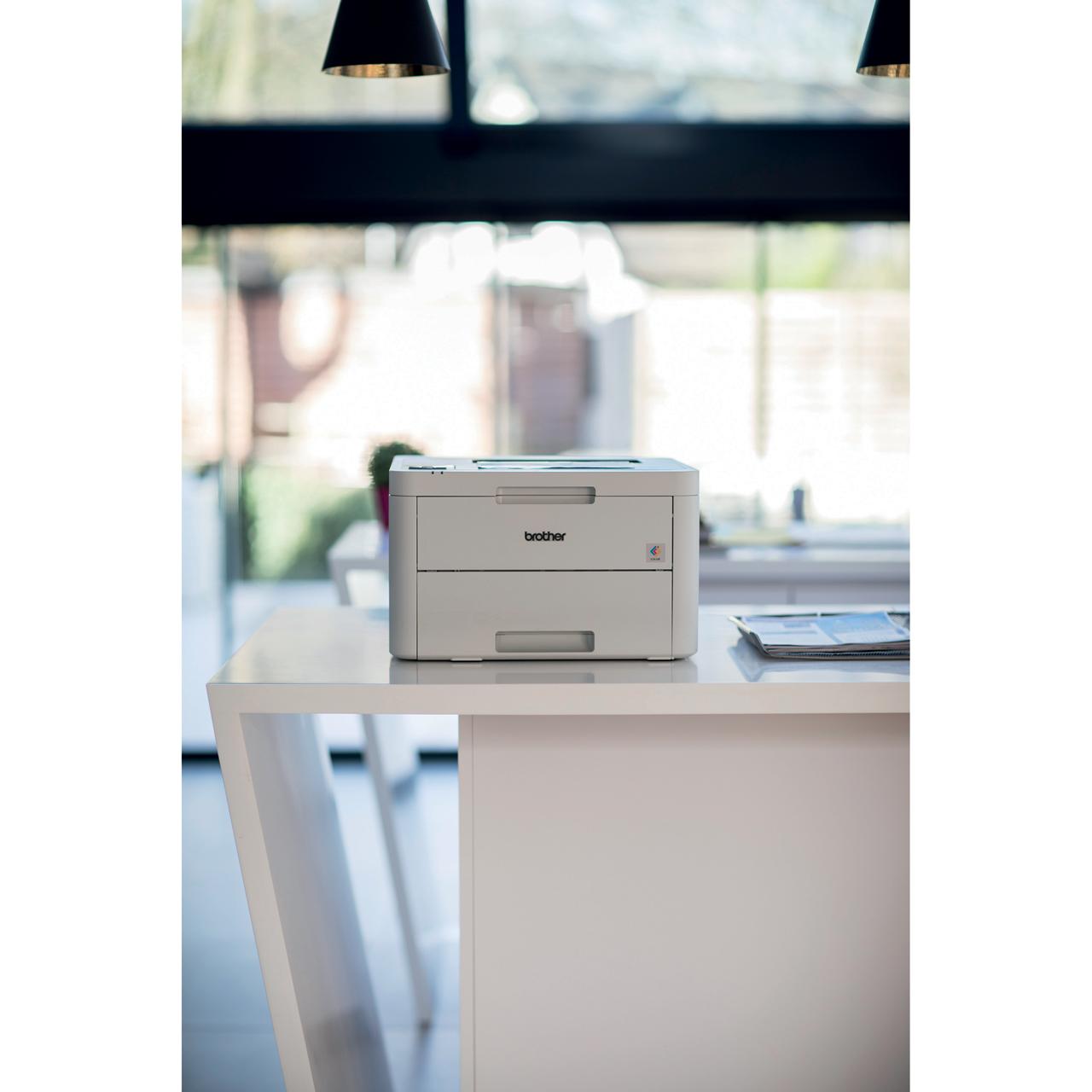 Brother HL-L3210CW LED Printer - White
