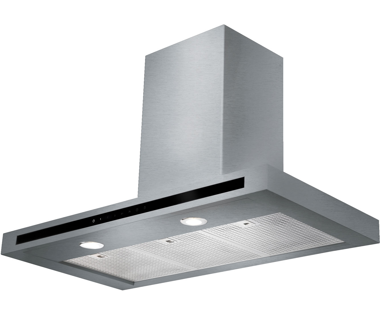Rangemaster HiLite Flat HLTHDS110SS Integrated Cooker Hood in Stainless Steel