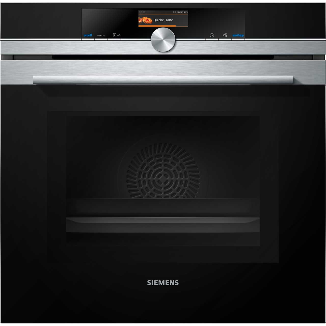 Siemens IQ700 HM656GNS1B Integrated Microwave Oven in Stainless Steel