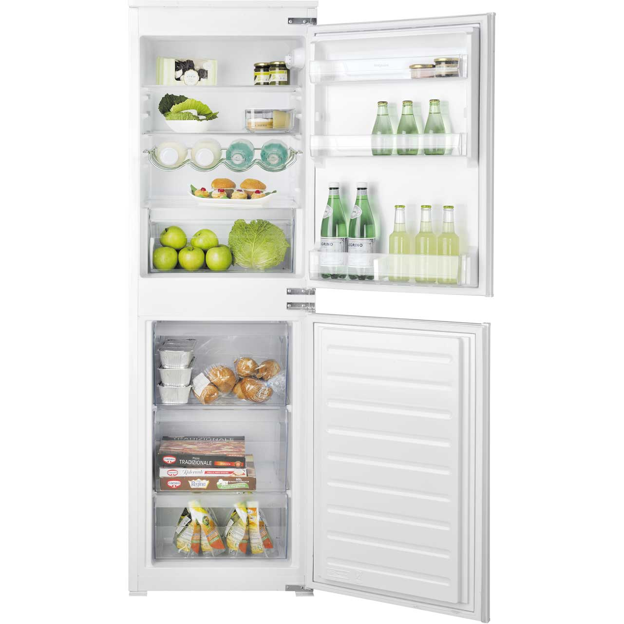 Slimline fridge freezer 55cm