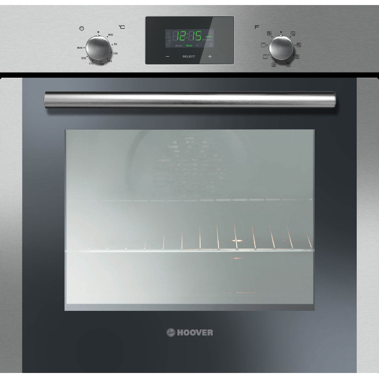 Single Oven With Grill Part - 27: Hoover HOC709-6X Built In Electric Single Oven - Stainless Steel