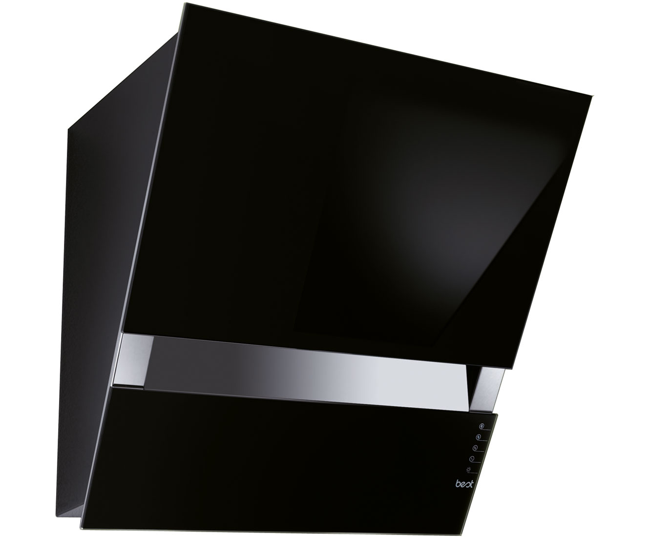 BEST Kite Small HOODBEKT55BL Integrated Cooker Hood in Black