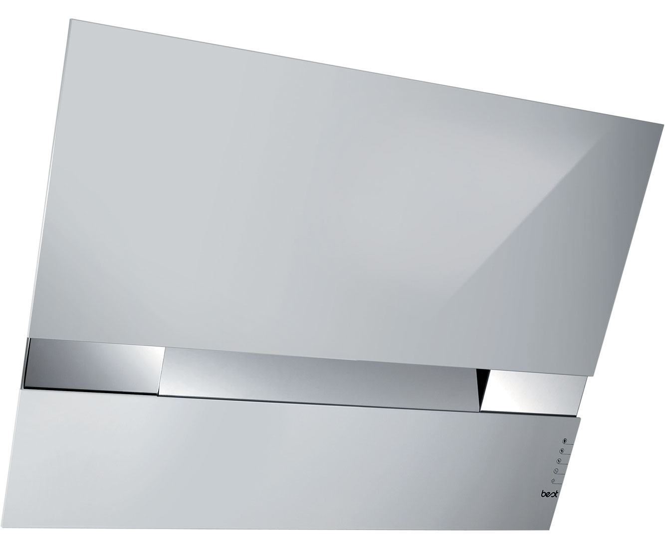 BEST Kite HOODBEKT80WH Integrated Cooker Hood in White