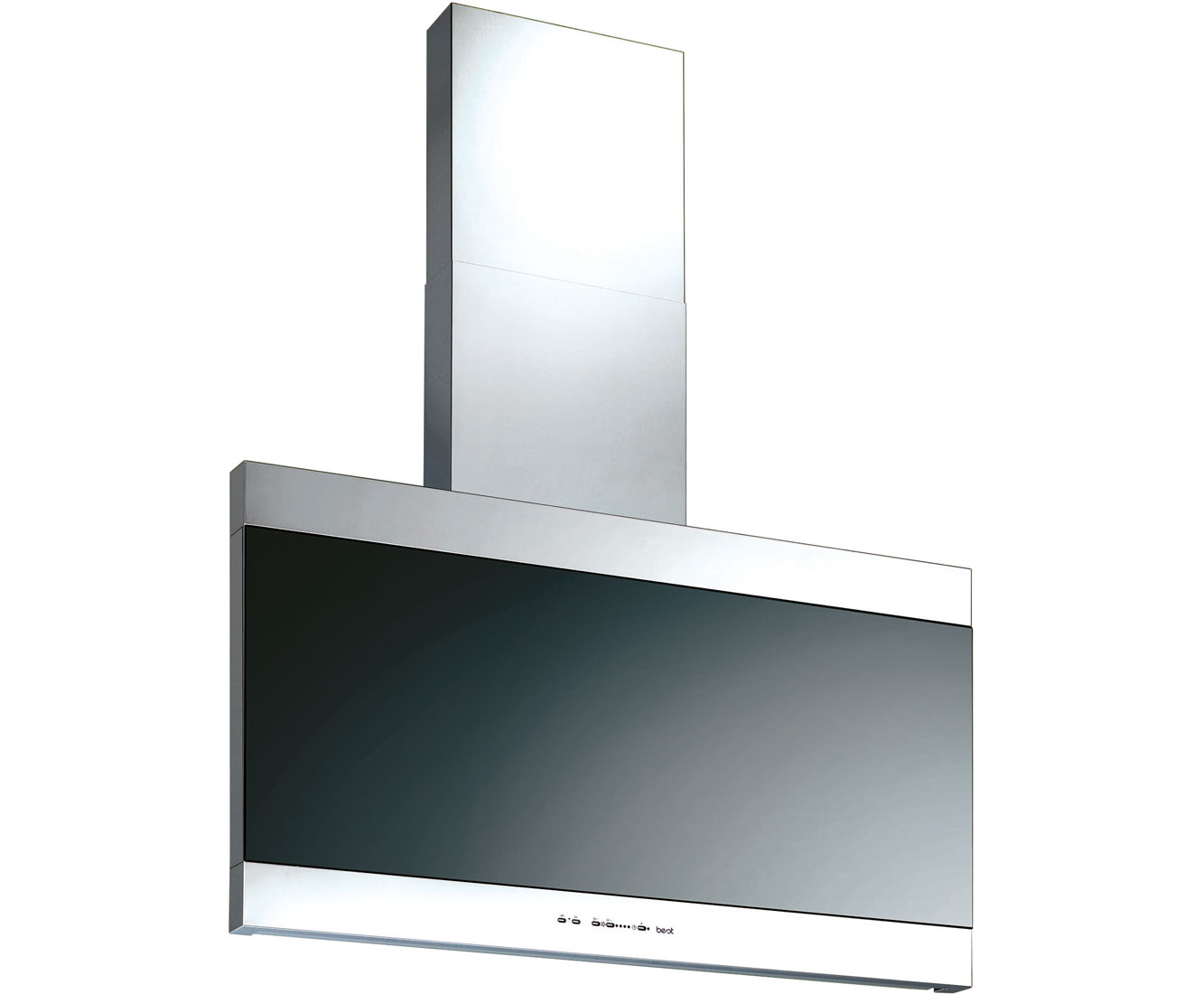 BEST Latina HOODBELA90SS Integrated Cooker Hood in Stainless Steel