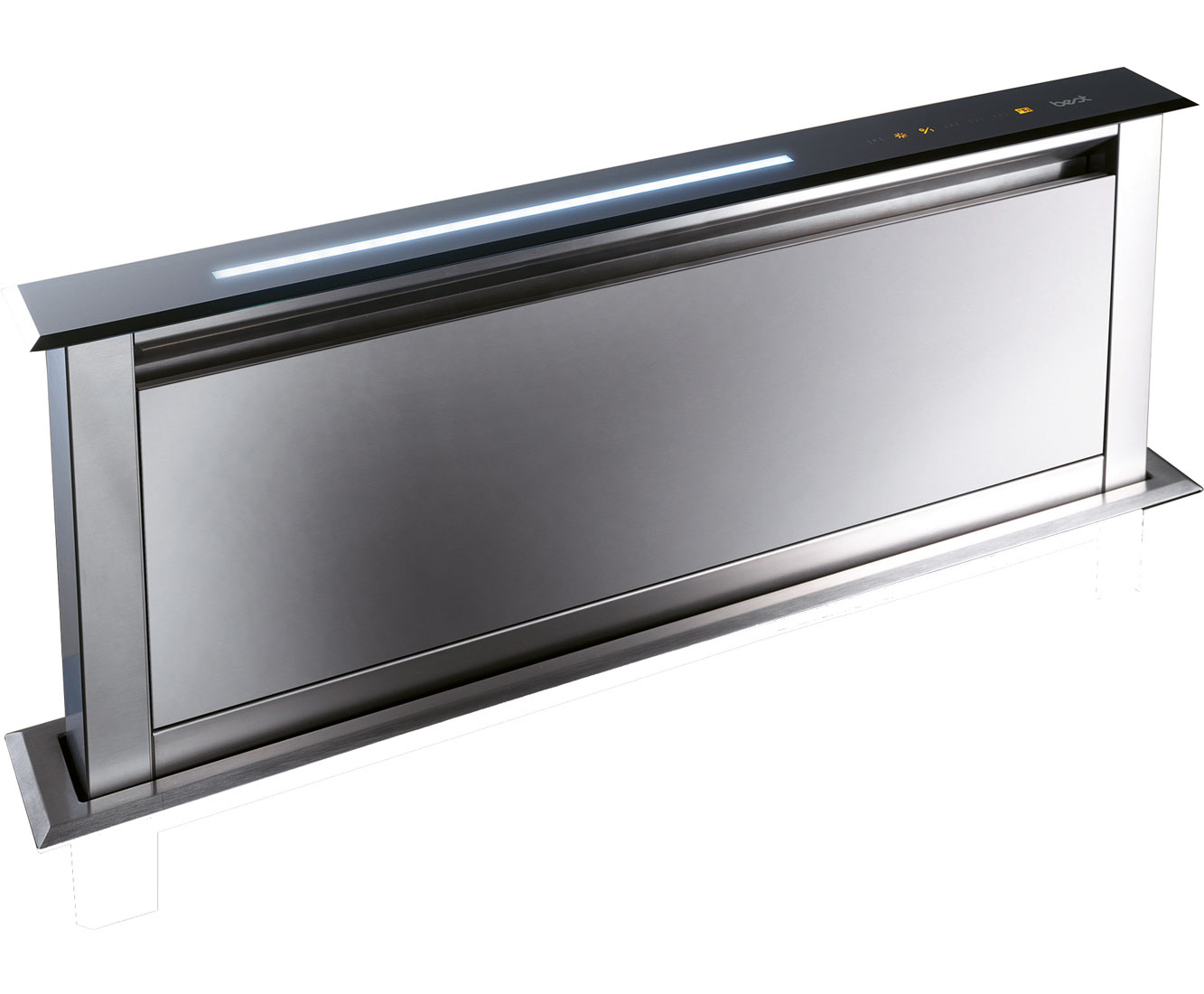 BEST Lift HOODBELI60SS Integrated Cooker Hood in Stainless Steel