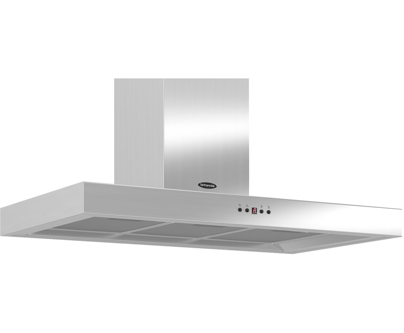 Britannia Arioso HOODK7088A90S Integrated Cooker Hood in Stainless Steel