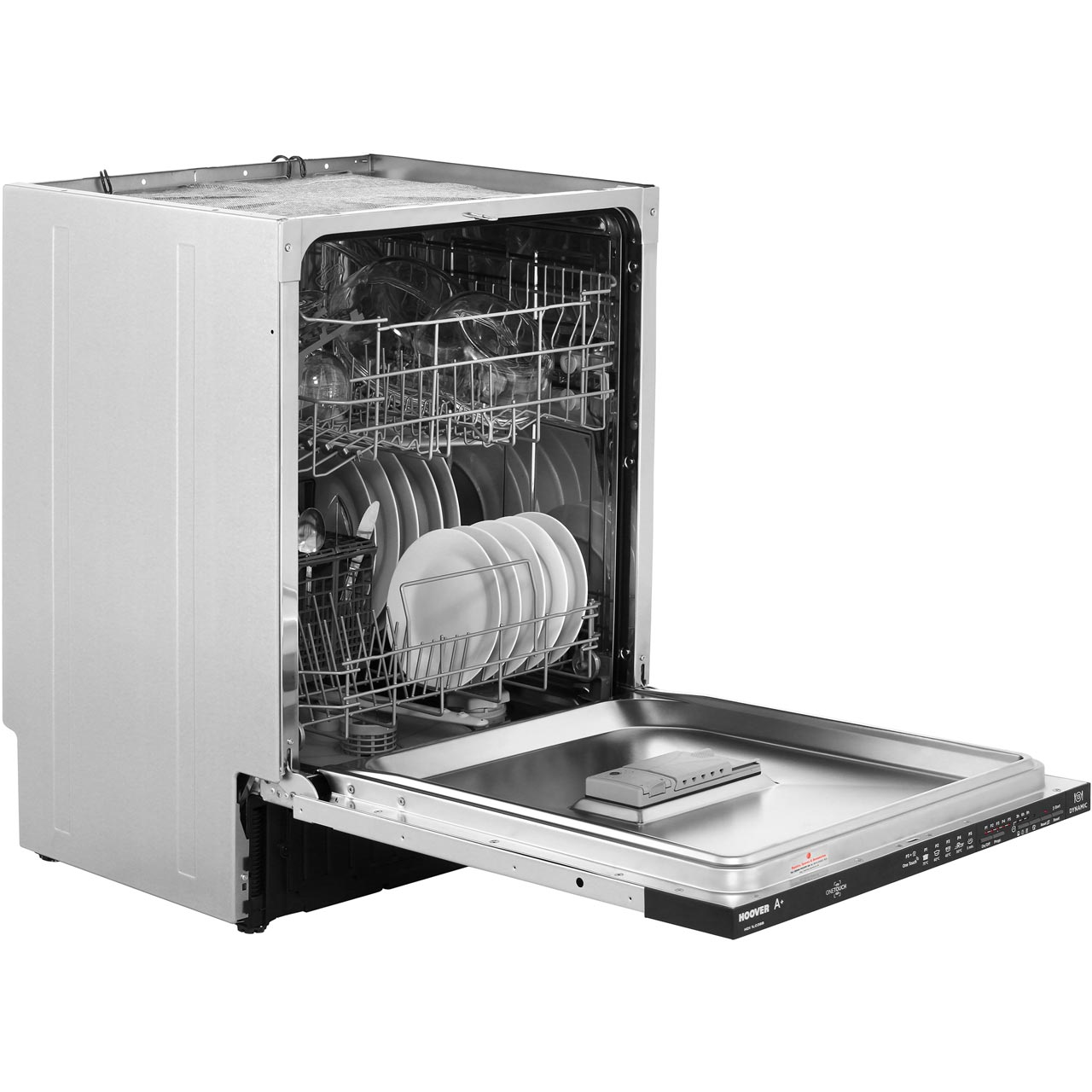 Hoover HDI1L038B Full Size Integrated Dishwasher.