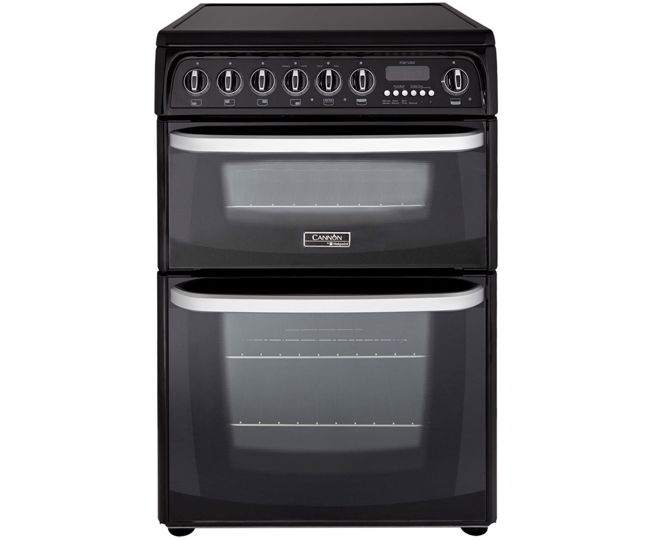 Cannon by Hotpoint Kendal CH60EKKS Free Standing Cooker in Black