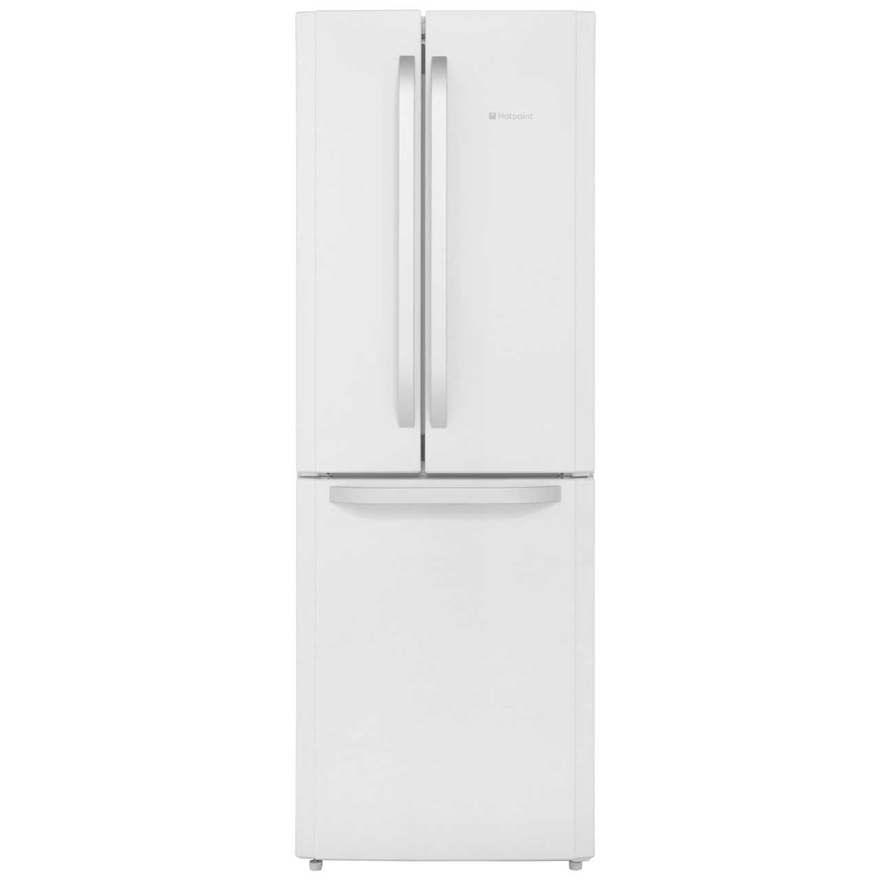 Hotpoint Trio FFU3DW Free Standing Fridge Freezer Frost Free in Gloss White