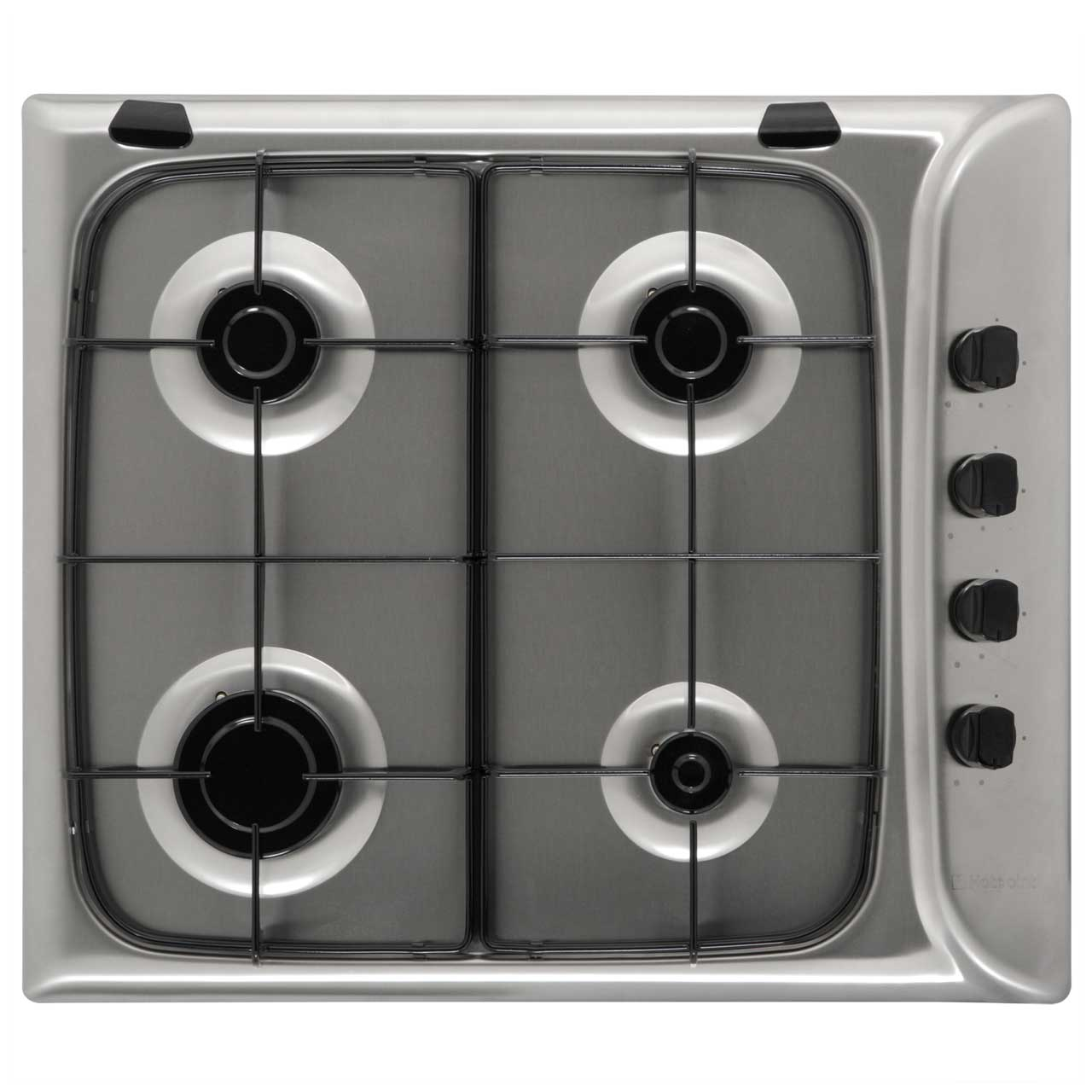 Hotpoint G640SX Integrated Gas Hob in Stainless Steel