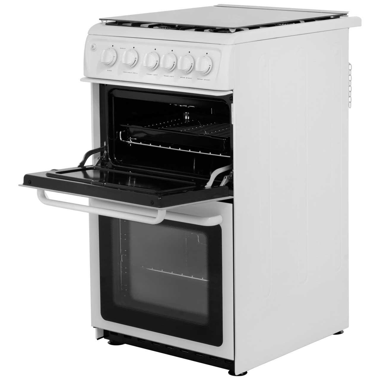 Hotpoint Hagl51p Free Standing Gas Cooker With Gas Hob