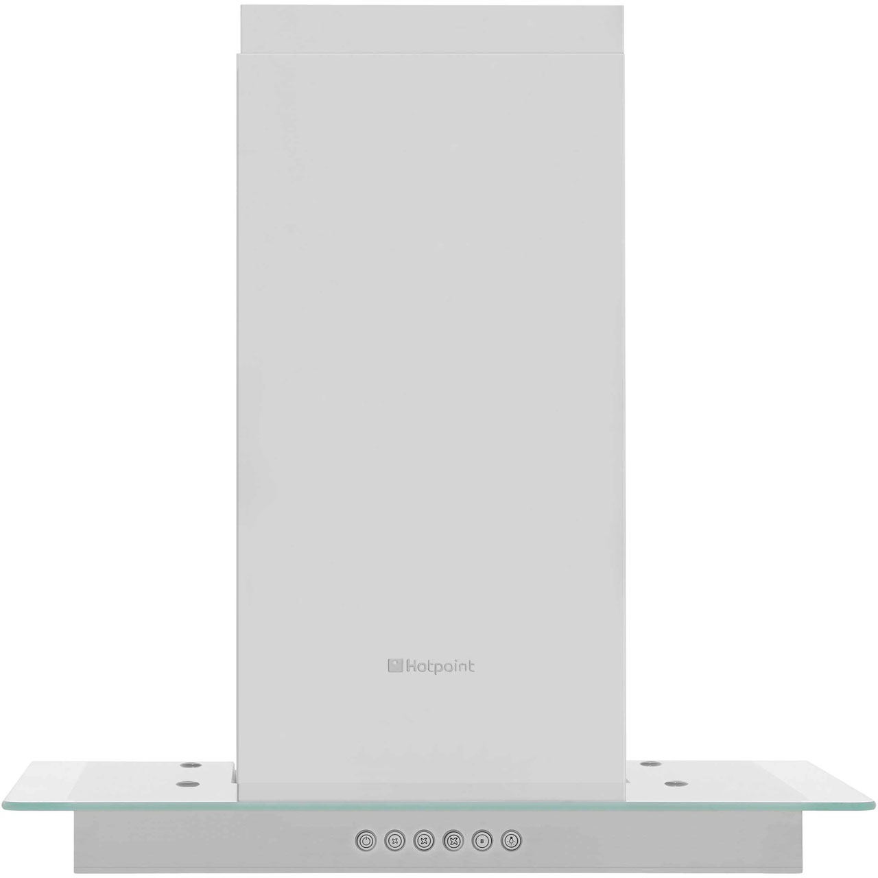 Hotpoint HDF65SAB 60 cm Chimney Cooker Hood - Stainless Steel