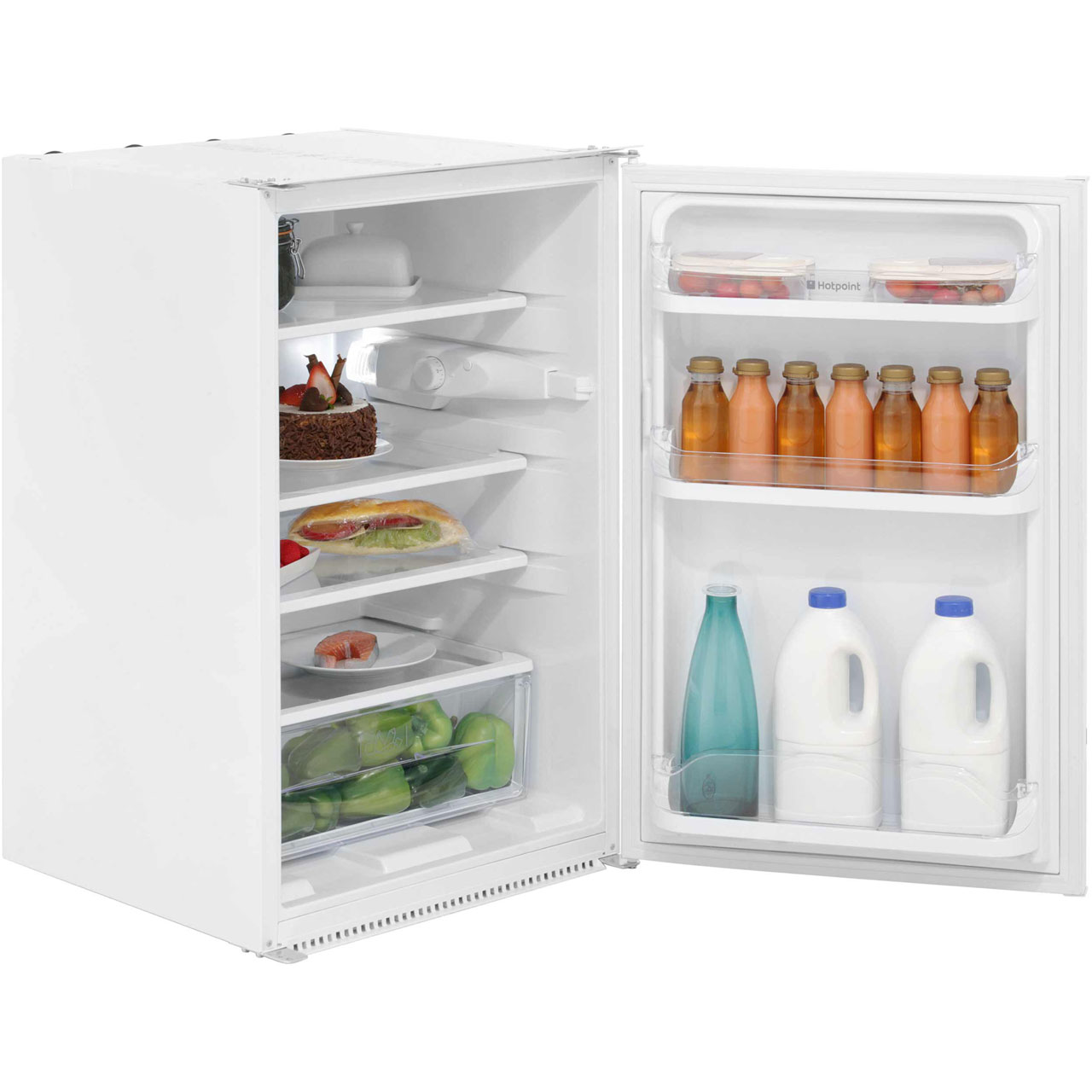 Hotpoint HS1622 Integrated Upright Fridge
