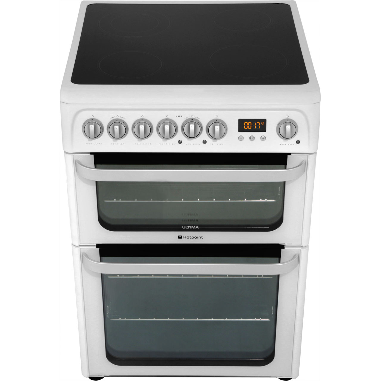 Hotpoint HUI612P Ultima Free Standing A/A Electric Cooker