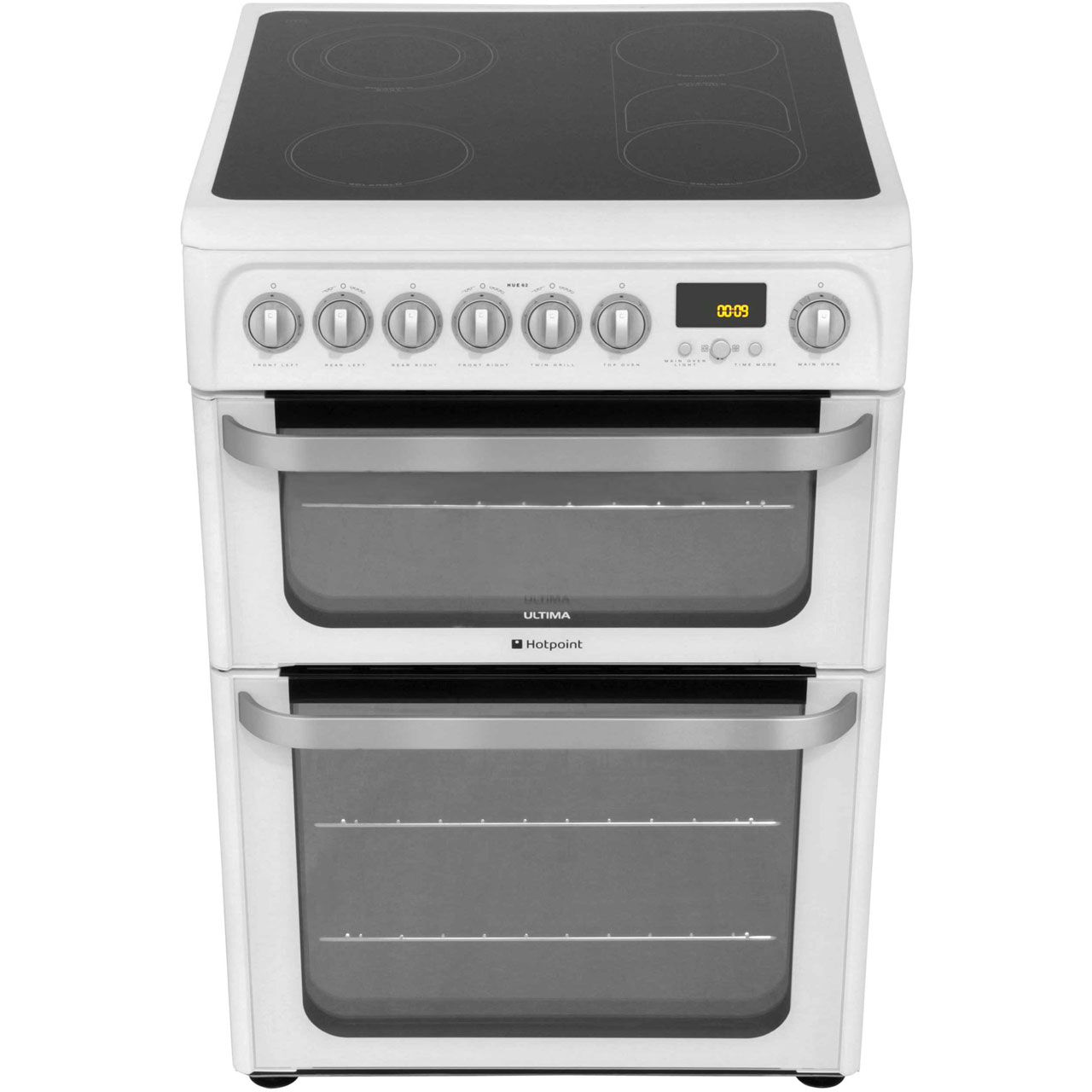 Hotpoint Ultima HUI611X 60cm Electric Cooker with