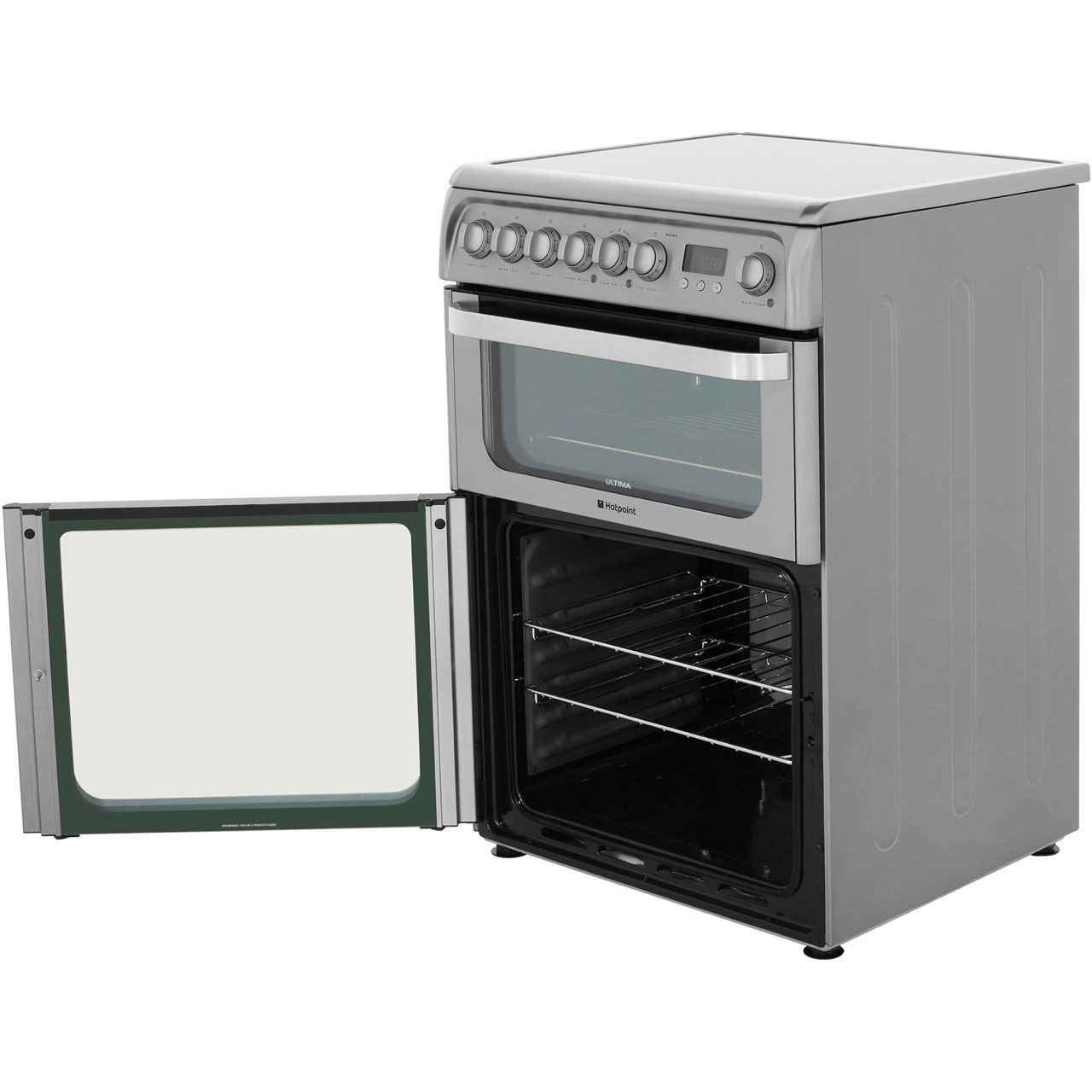 Hotpoint HUI611X Ultima Free Standing A/A Electric Cooker