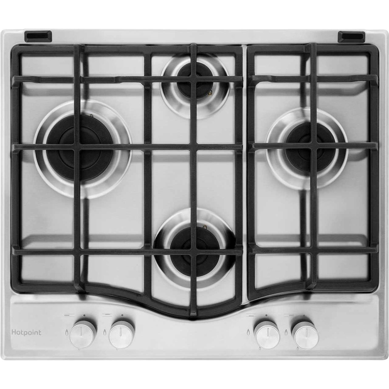 Hotpoint Ultima PCN641IXH Integrated Gas Hob in Stainless Steel