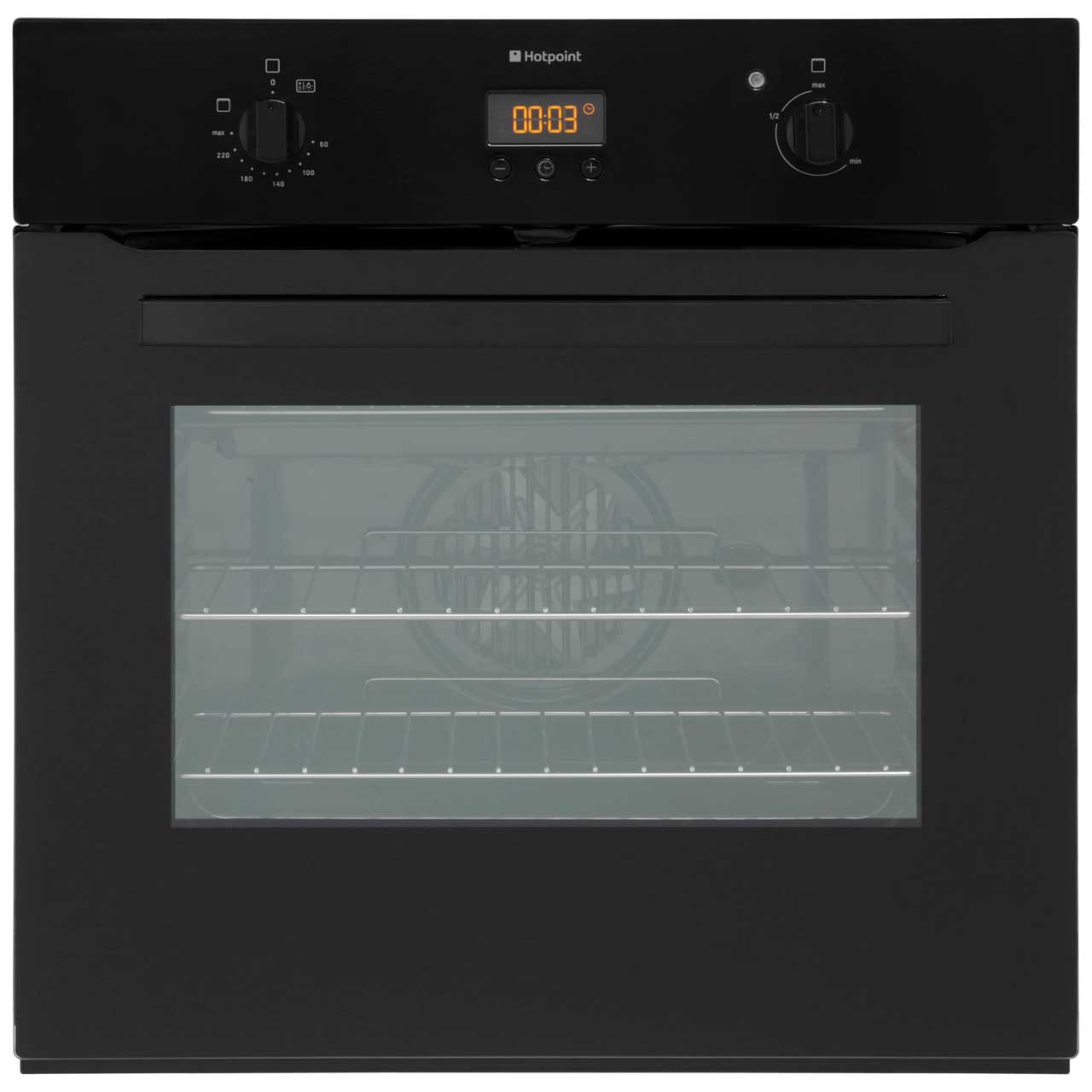 Hotpoint SH33KS Built In Electric Single Oven - Black