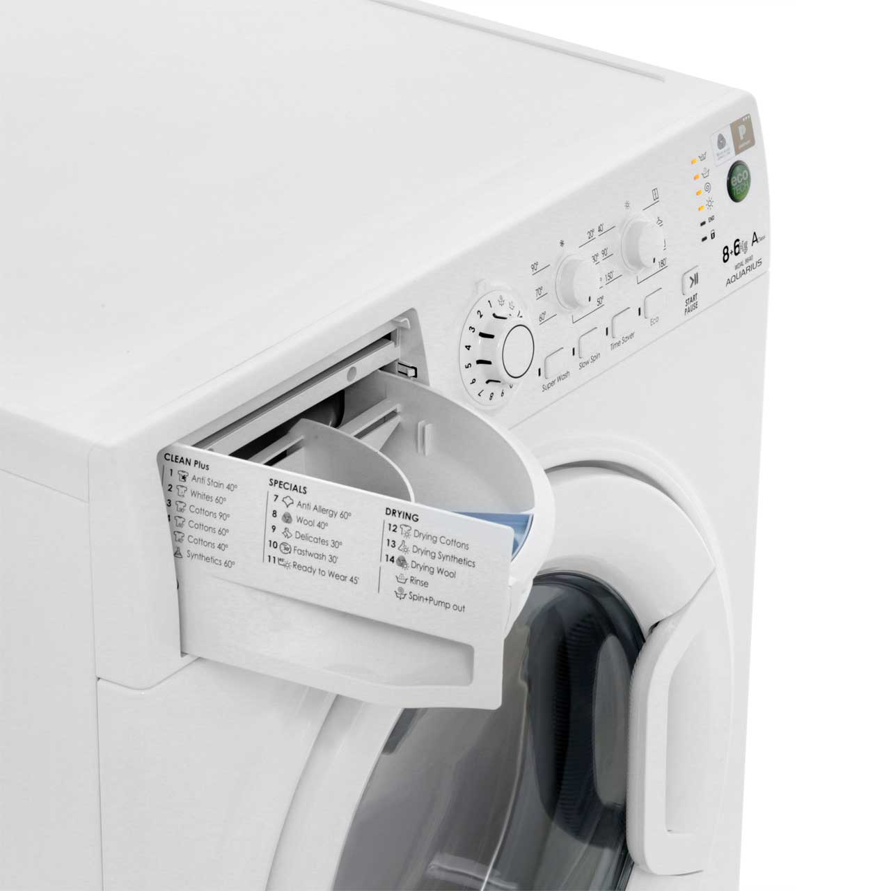 Hotpoint Wdal8640g 8kg 6kg Washer Dryer With 1400 Rpm