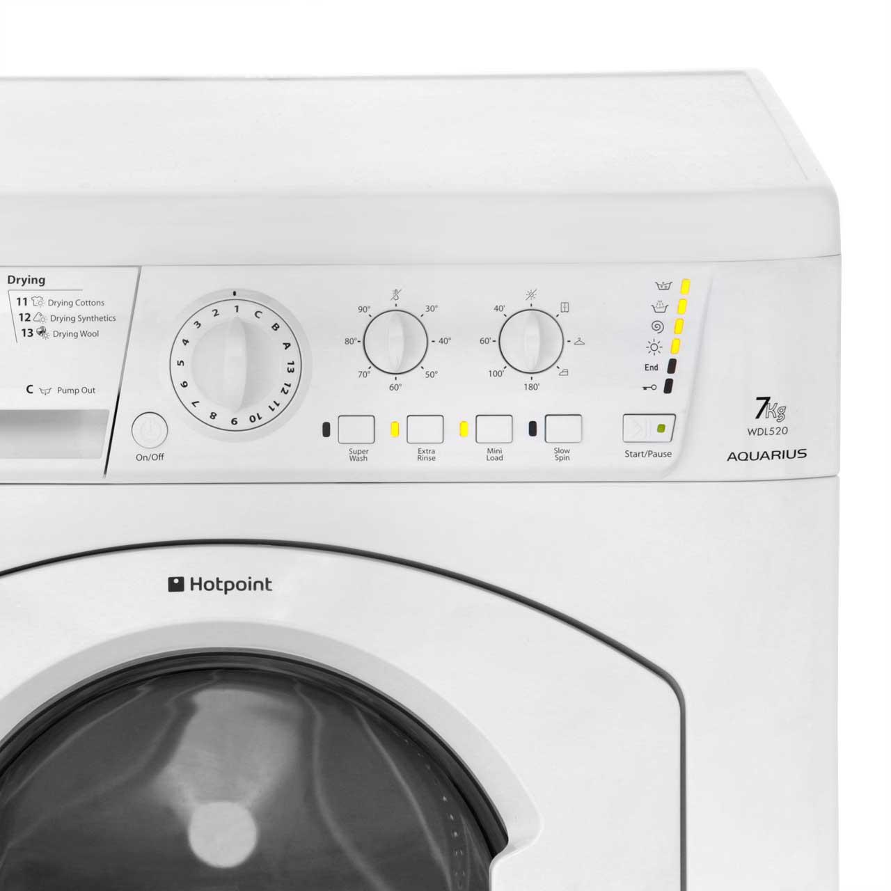Hotpoint Aquarius Wdl520 Washer Dryer Manual 2019 Ebook