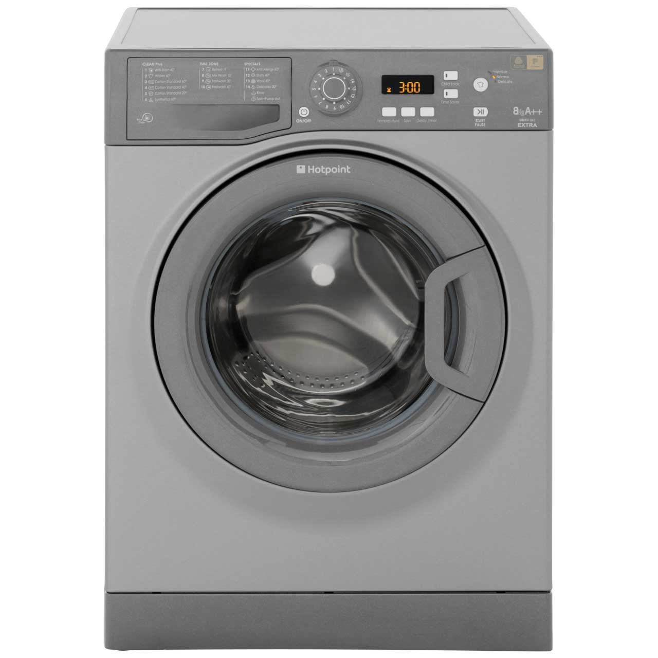 hotpoint extra 9kg washing machine wmxtf942g. Black Bedroom Furniture Sets. Home Design Ideas