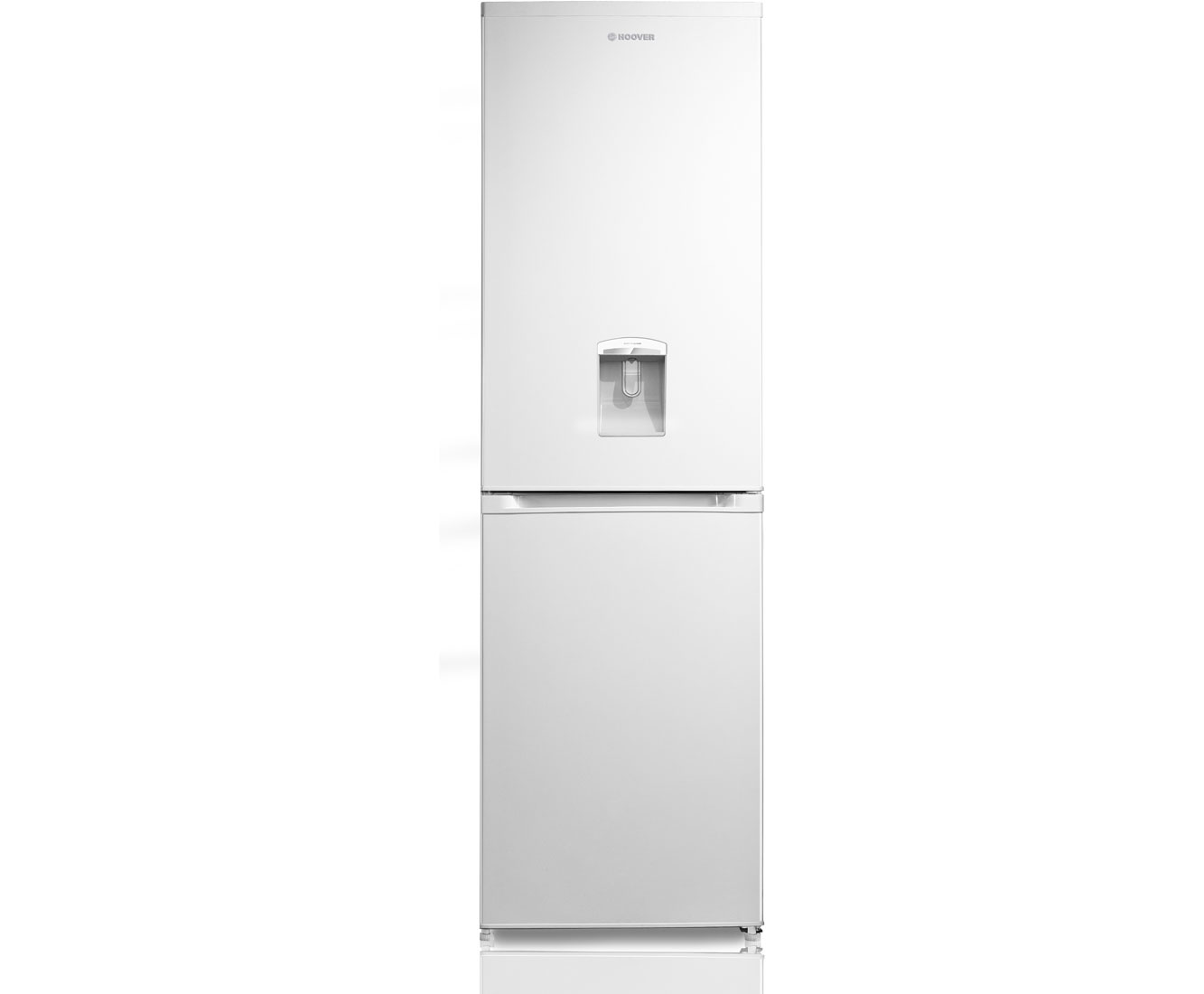 Hoover HVBF5182WWK Free Standing Fridge Freezer Frost Free in White